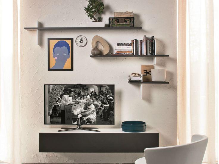 Tv Shelf Ideas best 25+ tv wall shelves ideas on pinterest | floating tv stand