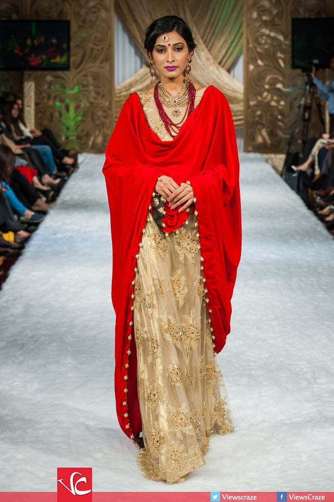 Faika Karim Collection at Pakistan Fashion Week 7 London 2015