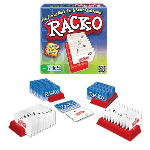 Amazon.com: Rack-O Card Game by Winning Moves: Toys & Games