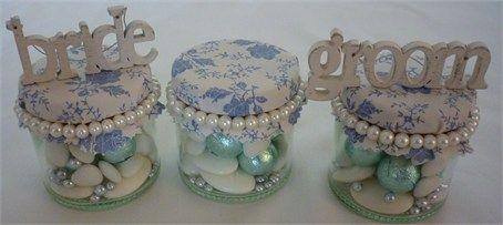 Vintage Pearl Favour Jars - Dream Favours