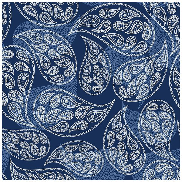 almost paisley, almost lace by Dina Khandy, via Behance