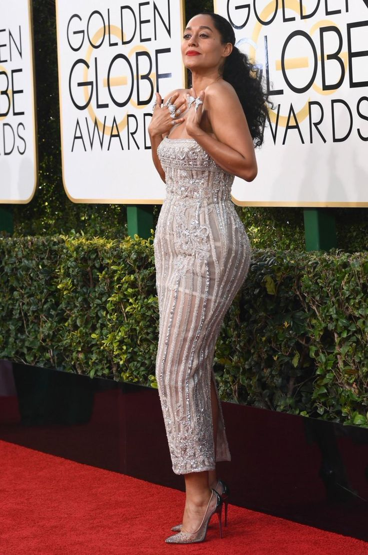 Tracee Ellis Ross 2017 Golden Globes