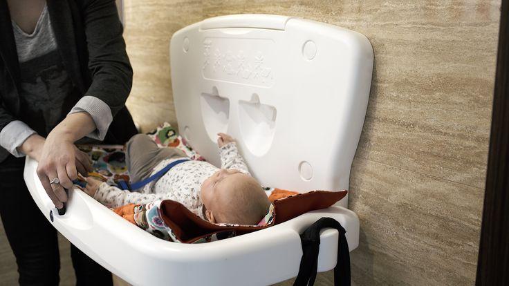 Stanowisko do przewijania | #dziecko #niemowlę #higiena #toaleta #przewijak
