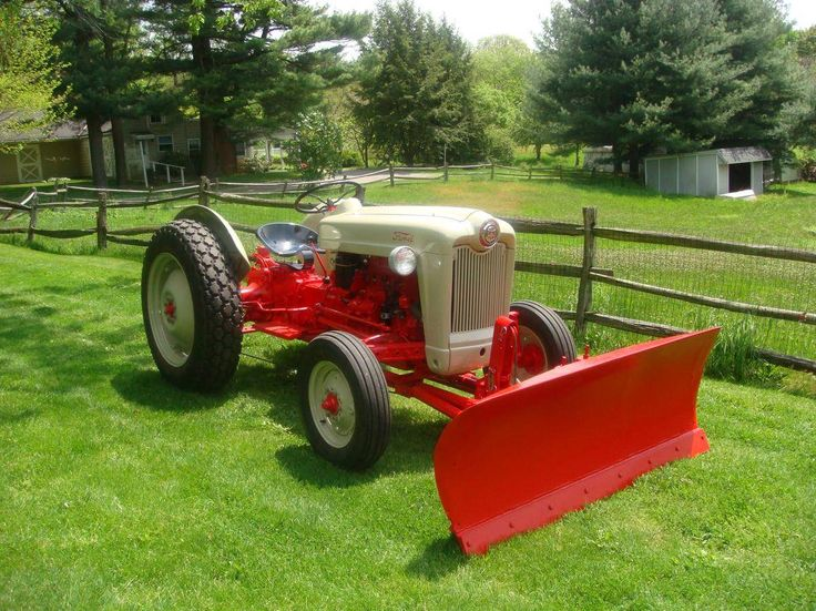 1958 Ford 8n Tractor : Ford naa golden jubilee tractors pinterest