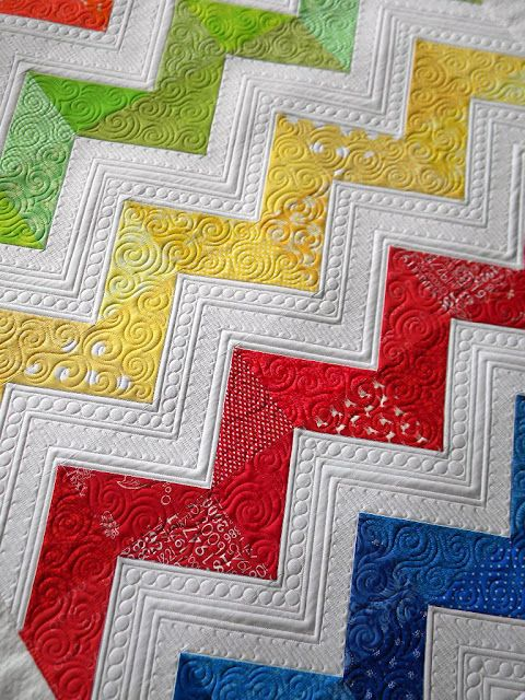 Quilting from Jenny at Sew Kind Of Wonderful!... this women is amazing... I would LOVE for her to quilt one of my quilts!