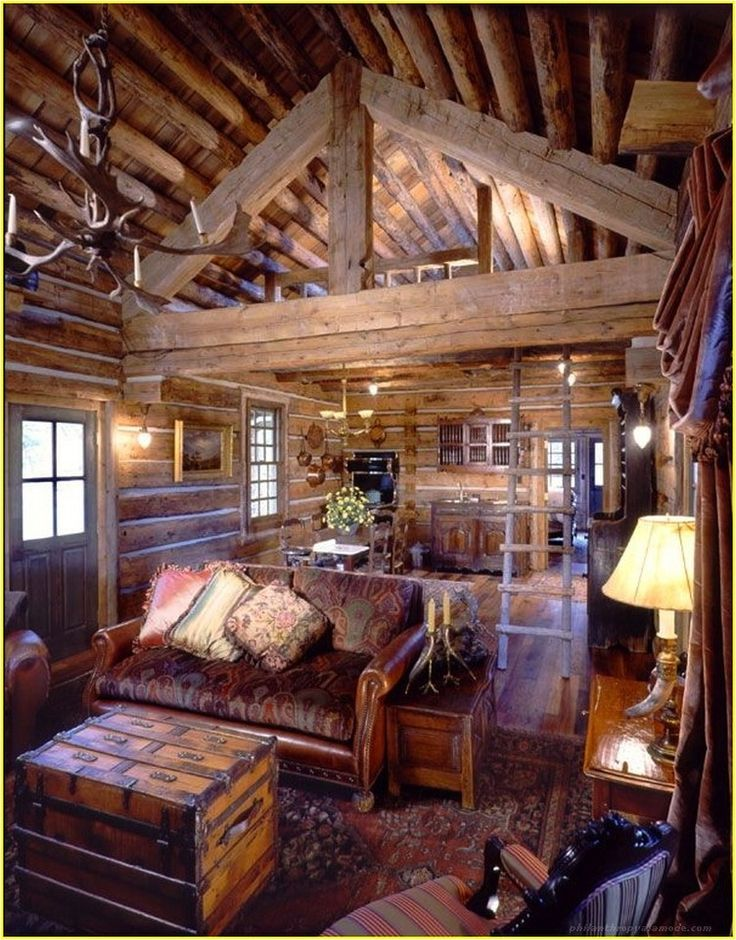 We Have 100 A Cozy Solution Ideas For Small Living Room Philanthropyalamode Com Popular Home Design Log Cabin Interior Log Cabin Homes Cabin Interiors #rustic #cabin #living #room