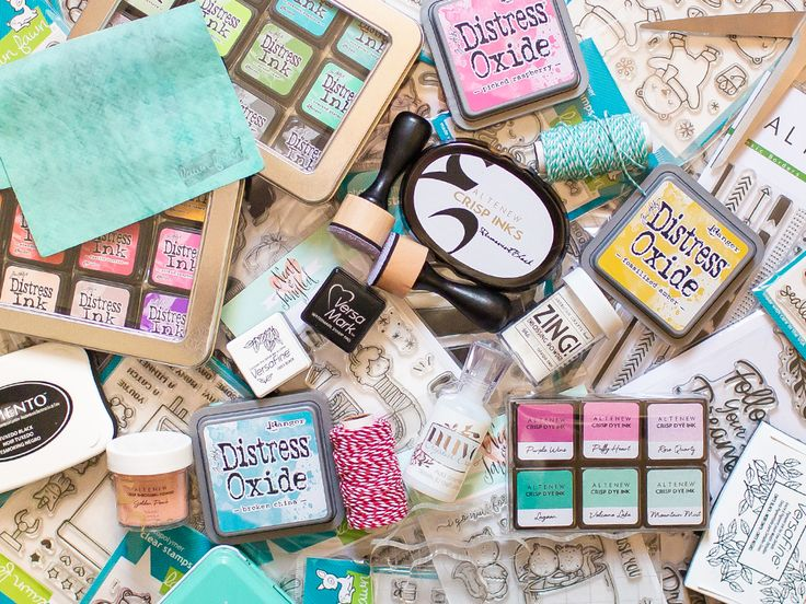 The best card making supply list by Mona Tóth.