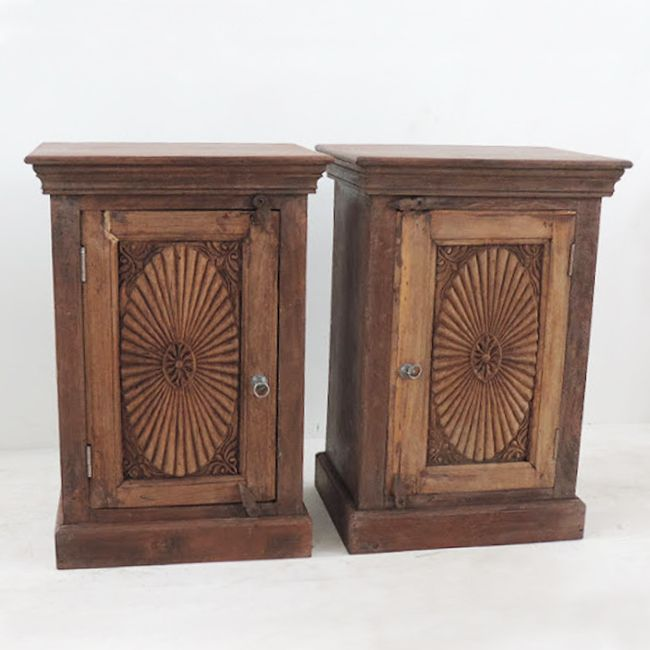 Check Out Our Cabinets At Mix Furniture!! Bedside Cabinet With Carved Door  Detailing.