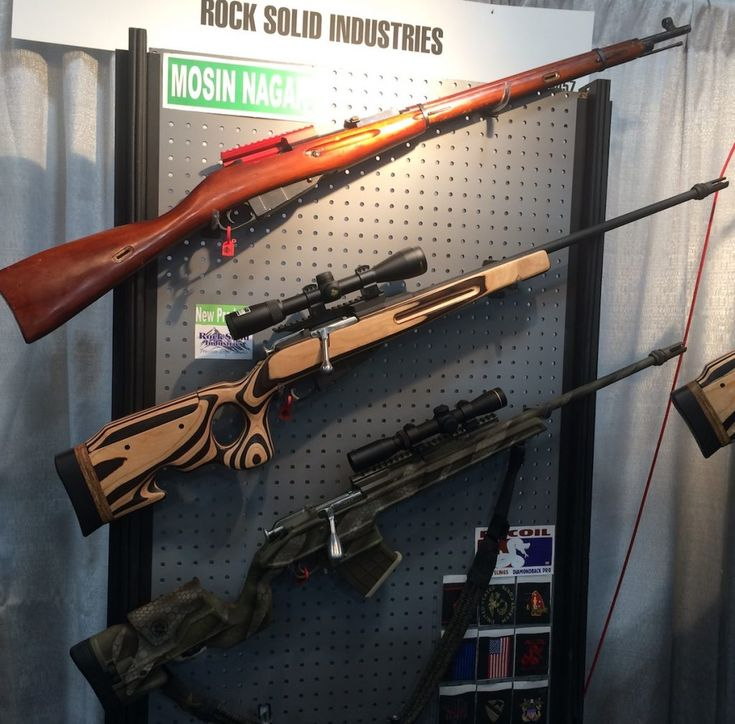 Rock Solid Scope Rails For Mosin-Nagant & Swiss K31 - SHOT Show 2017 - GunsAmerica Digest