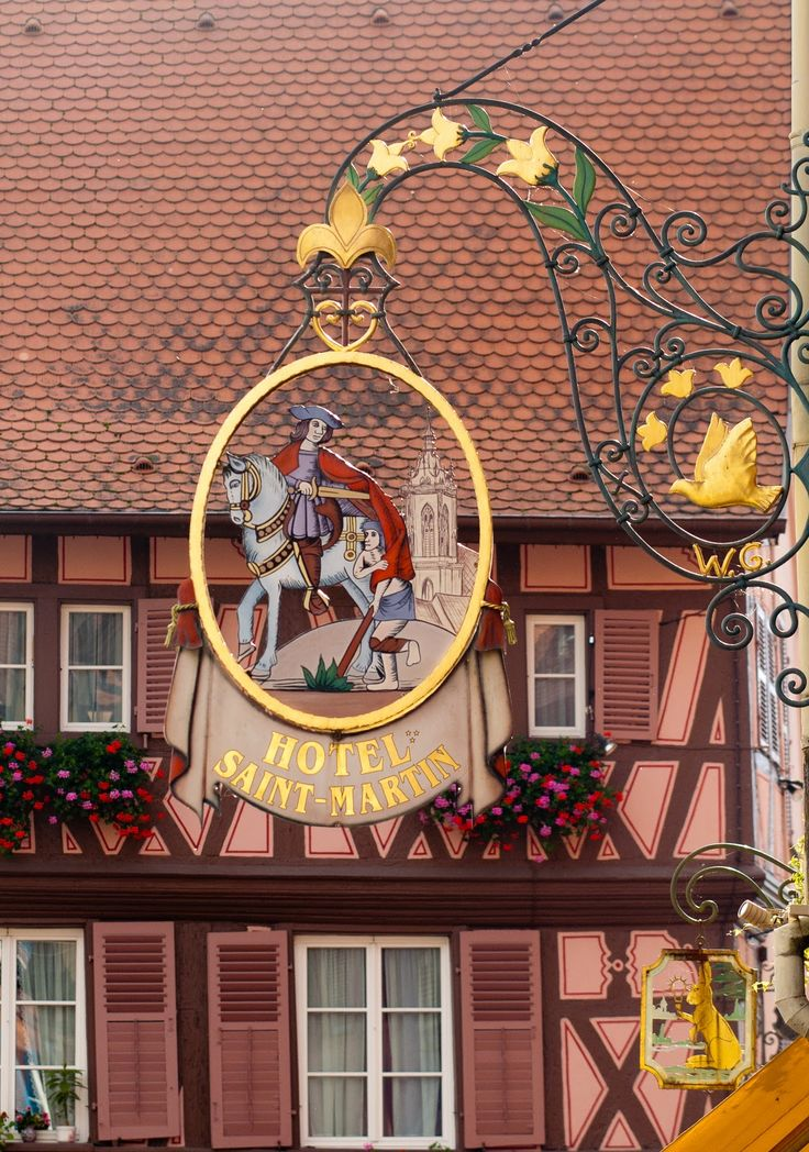 Colmar France The Hotel Saint Martin Was The Neatest: colmar beauty and the beast