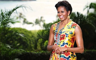 The first lady SMART and CLASSY!!Happy Birthday