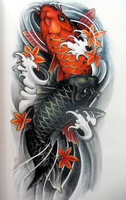 Image result for koi fish tattoos