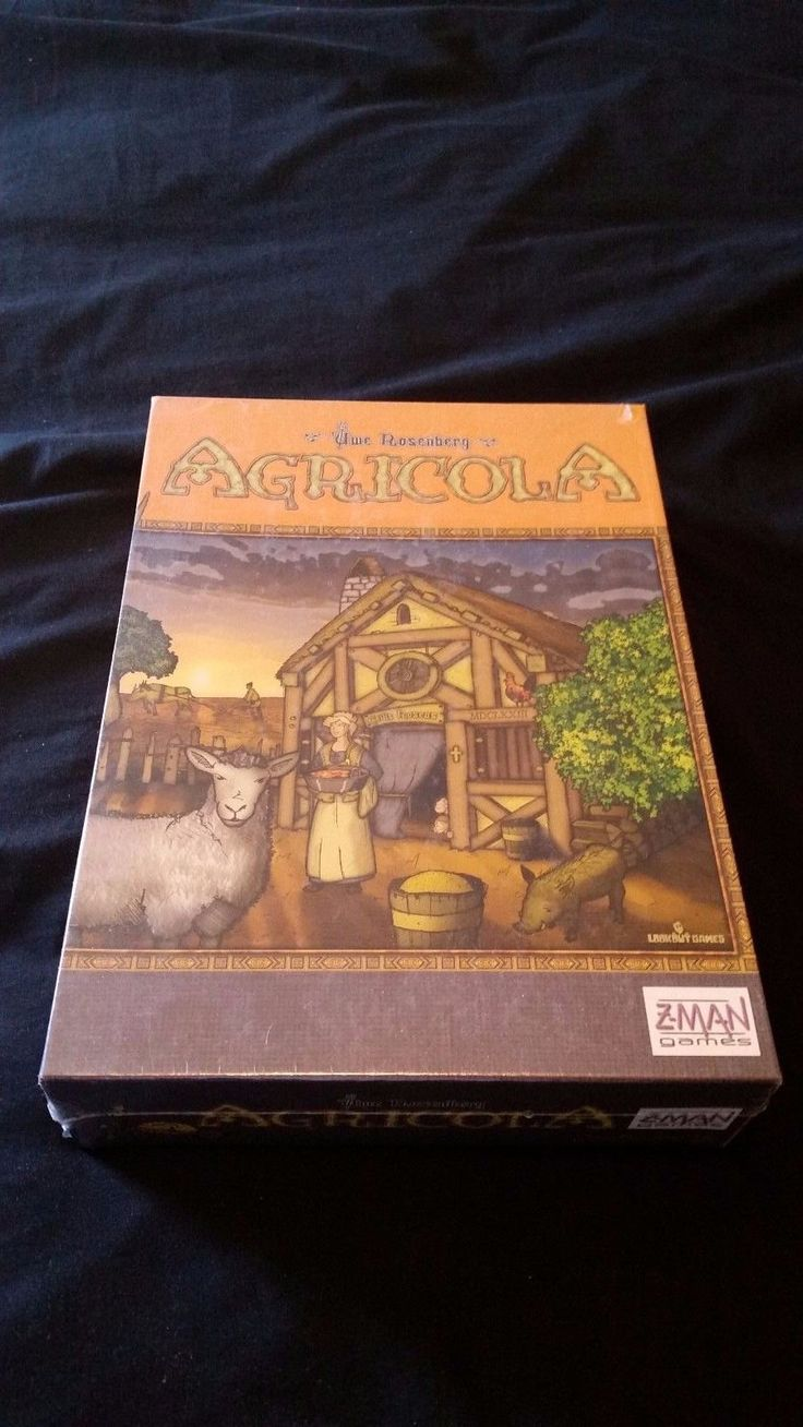 Agricola Board Game  Z-Man Games Brand New