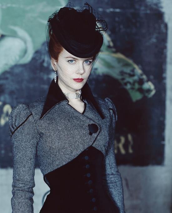 Nicole Kidman - The Portrait of a Lady. Victorian, gothic, bolero jacket.