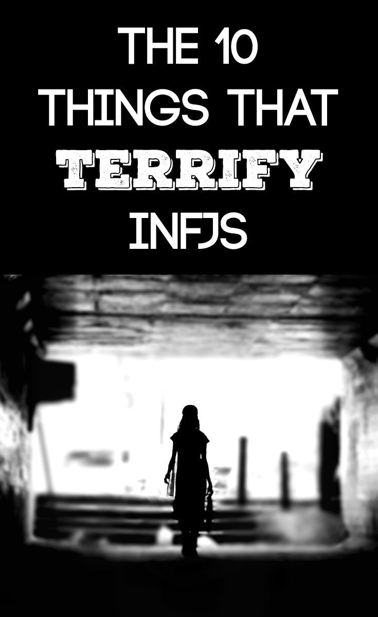 INFJ Fears - wow! Some of these are so true for me. I'm not scared of the supernatural though, more intrigued by it.