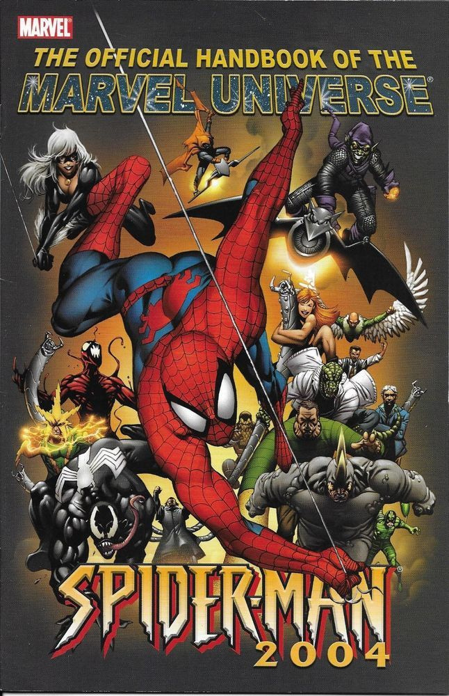 The Official Handbook of the Marvel Universe Spider-Man