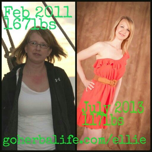 My Herbalife before and after pics.  goherbalife.com/ellie