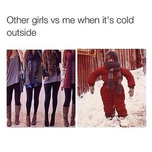 Why are girls always cold