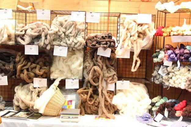 how to turn sheep wool into yarn