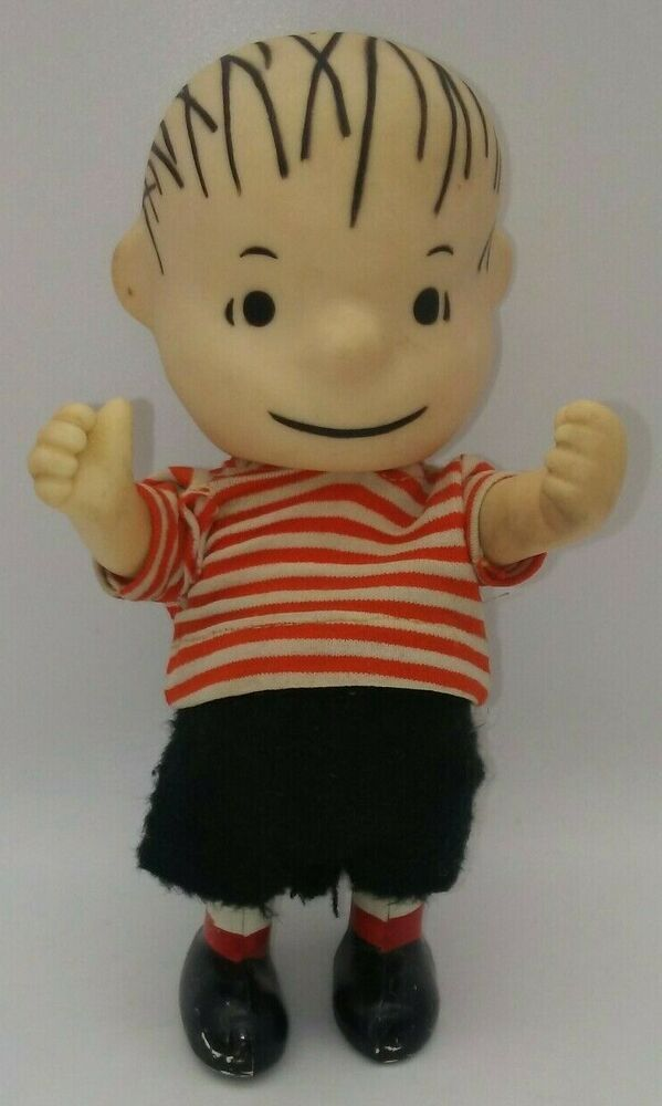Vtg Rare Peanuts Linus Pocket Doll Toy United Feature Syndicate 1966 Hong Kong Pocketdolls In 2020 Snoopy Plush Animal Dolls Bluebird Vintage