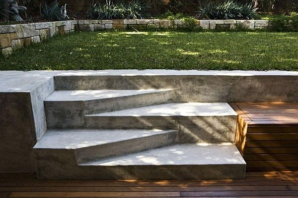 This is what I want to do to my steps leading to my pond. http://www.unitstepjoliet.com