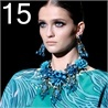 The 'Must Trend' for this 2013 summer. Big necklace and big earrings