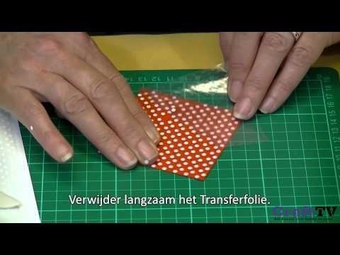 Ribbon Stickers - Kaarten maken met Ribbon Stickers - YouTube