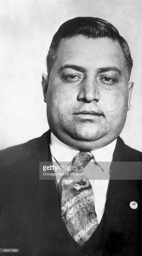 Francesco Ioele (1893 - 1928), better known as Frankie Yale, was a Brooklyn vice lord and Al Capone's first employer, ca. 1920s. He later fell victim to Capone's violence. Yale was a leading figure in 1920s New York crime and got his start with Johnny Torrio with the notorious Five Points Gang.