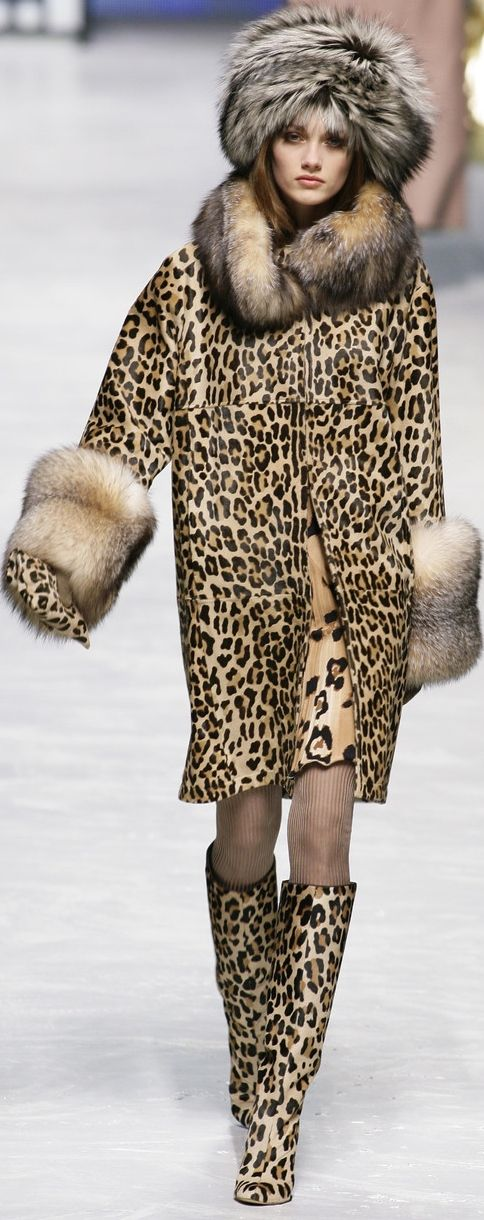 "Leopard on Fleek...Love leopard print...looks like ""Cookie"" from empire..."