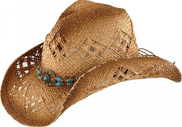 Western Beach Hat ~ A girl can never have too many hats...