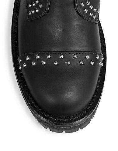 Mendez Studded Combat Boots | Hudson's Bay