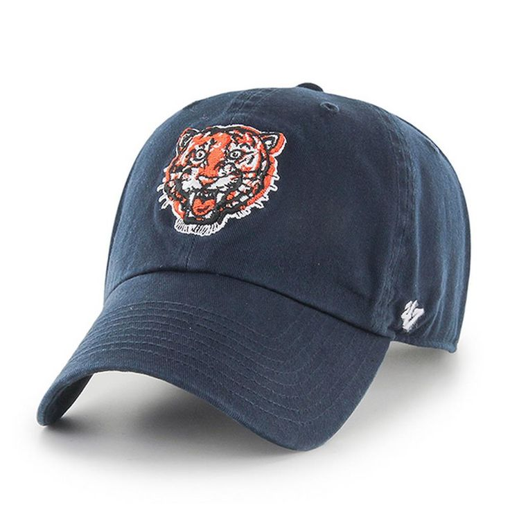 Detroit Tigers Hat '47 Brand Clean Up Throw Back Logo