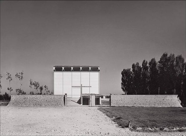 Chiesa Mater Misericordiae di Baranzate. Angelo Mangiarotti, 1957.