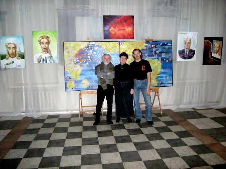 Ven Goleiko, Tatiana Chebrova and Flex Breus
