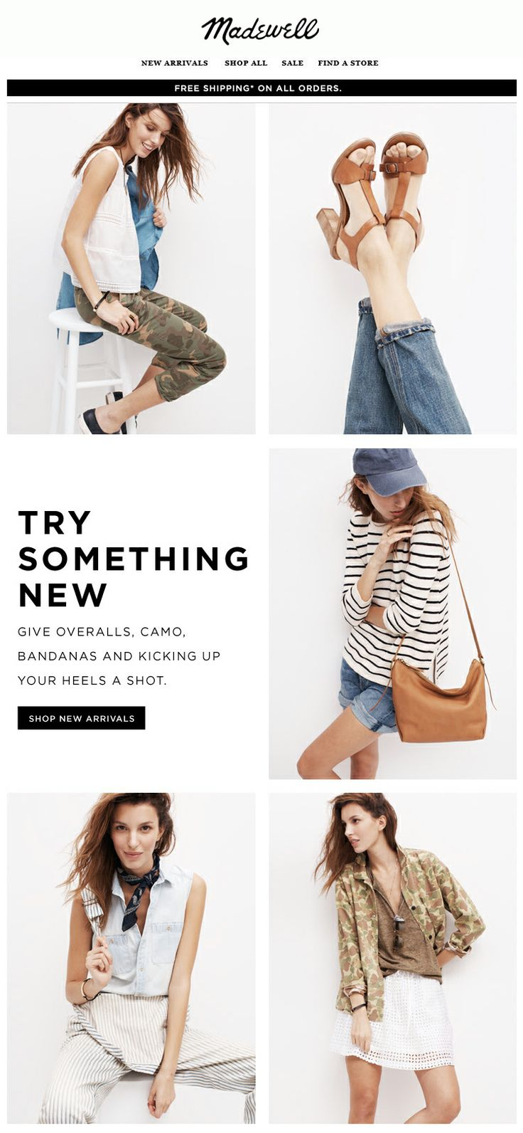 Madewell : New Arrivals