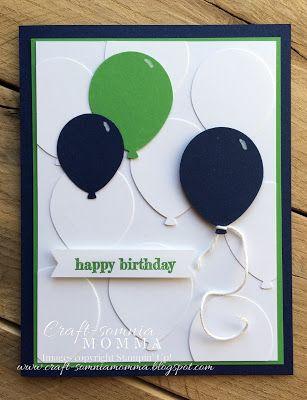 Birthday Balloons ~ by Breelin Renwick   Craft-somnia Momma