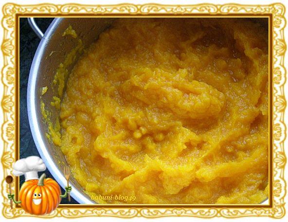 Babcia radzi coś...: Dynia i prosty sposób na przygotowanie bazy na zupę z niej