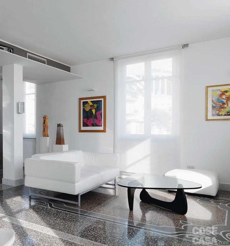 L'appartamento d'epoca cambia look grazie a una diversa distribuzione e…