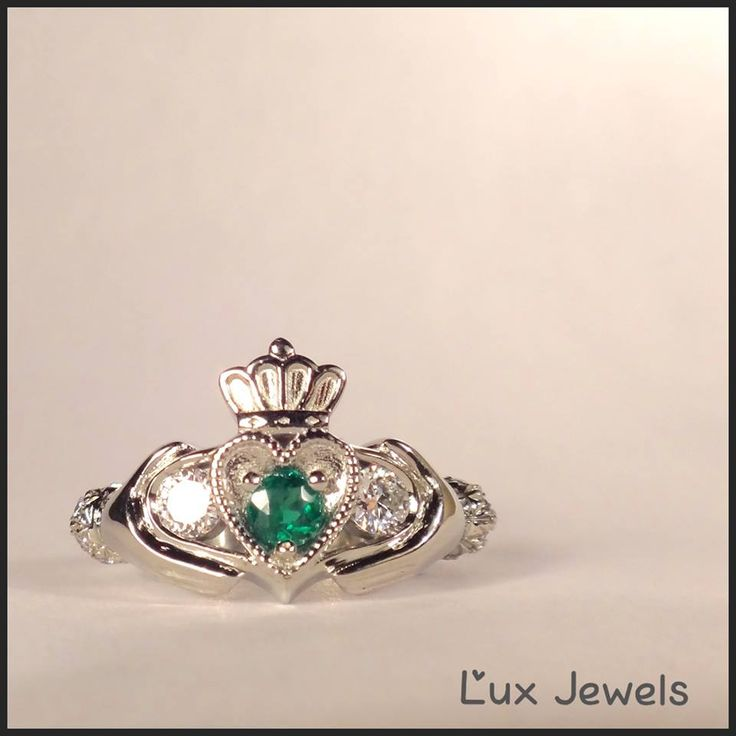 Have you noticed there are more Irish men in Vancouver? The Claddagh ring is a traditional Irish ring which represents love, loyalty, and friendship. So glad I can help them keep their traditional alive! engagementring dreamsmadereal www.luxjewels.com