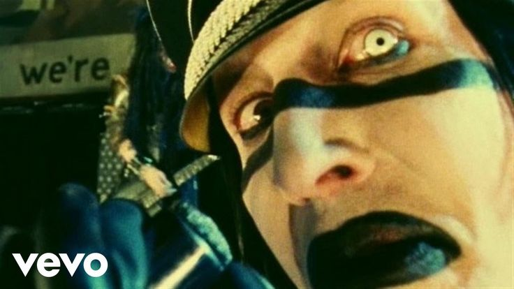 Music video by Marilyn Manson performing The Fight Song. (C) 2000 Nothing/Interscope Records.