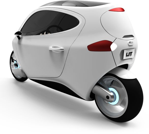 The C-1 is a proposed fully-electric and fully-enclosed self-balancing motorcycle