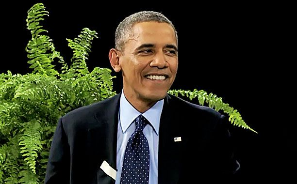 'Between Two Ferns' director Scott Aukerman on how they got Obama to laugh at himself   EW.com