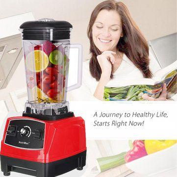 110-240V 2200W Mixer Blender Fruit Mix Juicer Smoothie Home Multi-functional Food Processor 2L at Banggood
