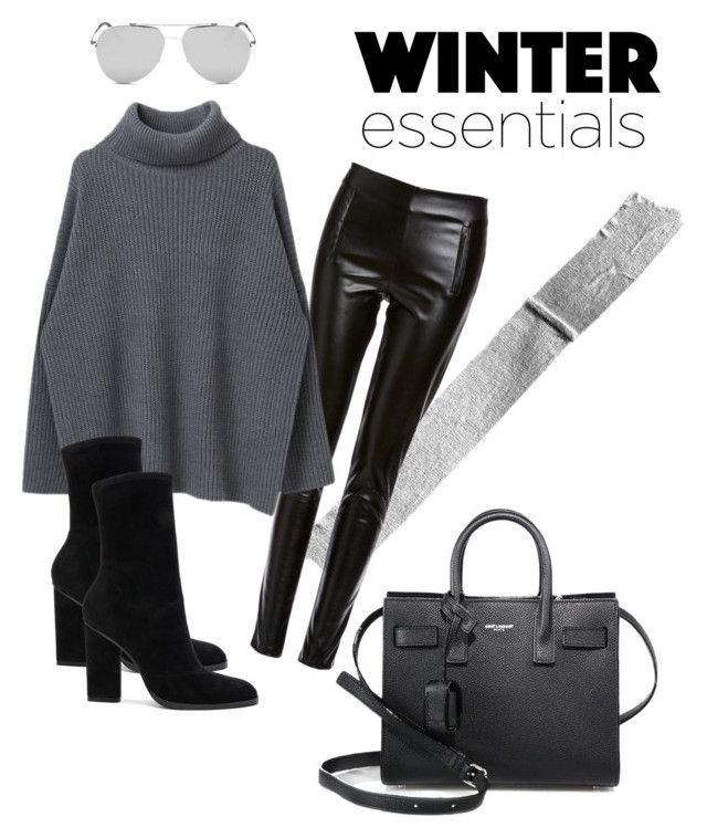 """""""Untitled #10"""" by maria-raniela on Polyvore featuring Six Crisp Days, Alexander Wang and Yves Saint Laurent"""