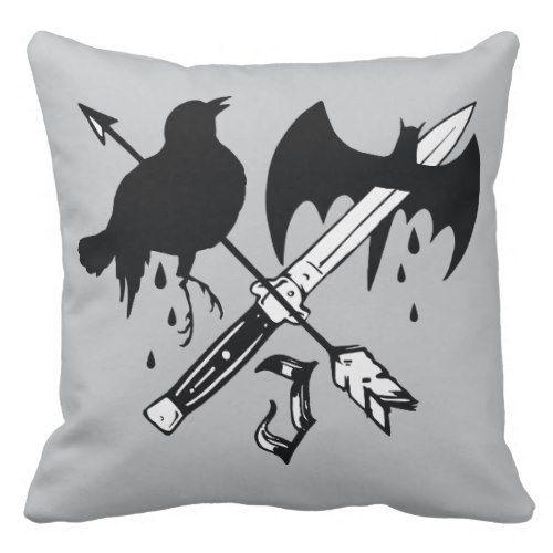 Suicide Squad | Joker Symbol Throw Pillow