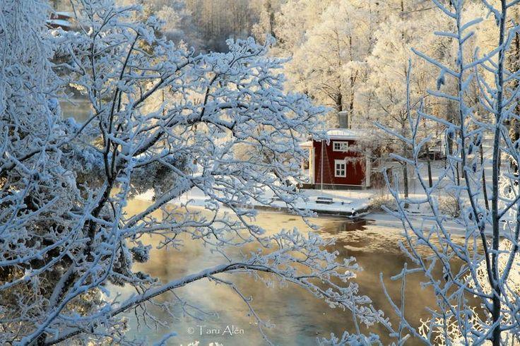 Talvinen Siltasaari, Heinola