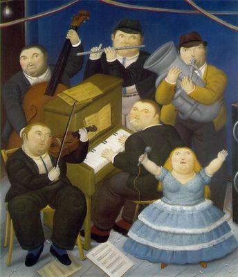 Fernando Botero - Musicos - 1991