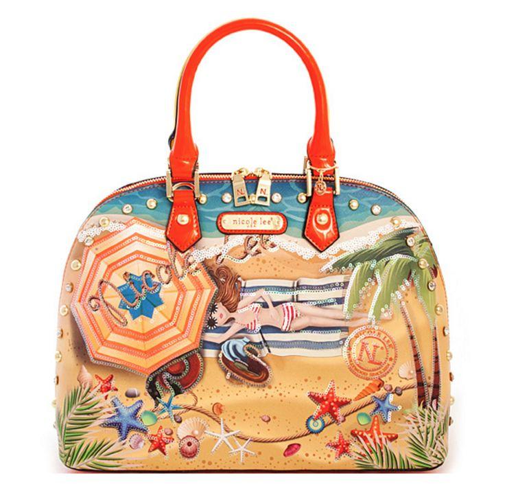 Nicole Lee Vacation in Hawaii Handbag