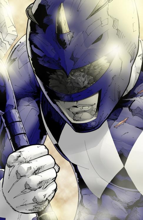 Blue Mighty Morphin Power Ranger