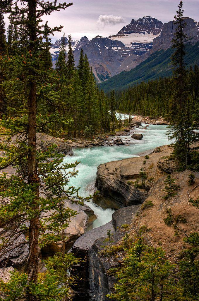 Mandatory | Mistaya river and canyon, Banff National Park, o… | Flickr